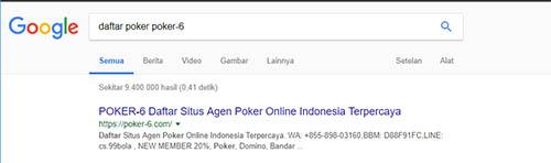 Langkah daftar poker online di situs poker-6